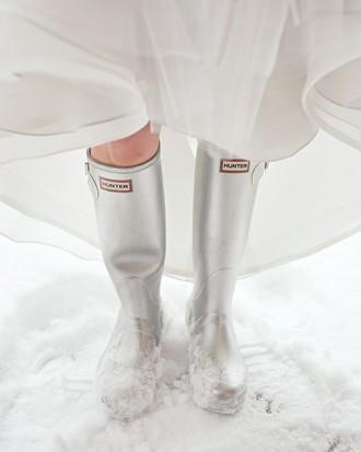 Une mariée en hiver doit-elle porter des pantoufles de verre ?