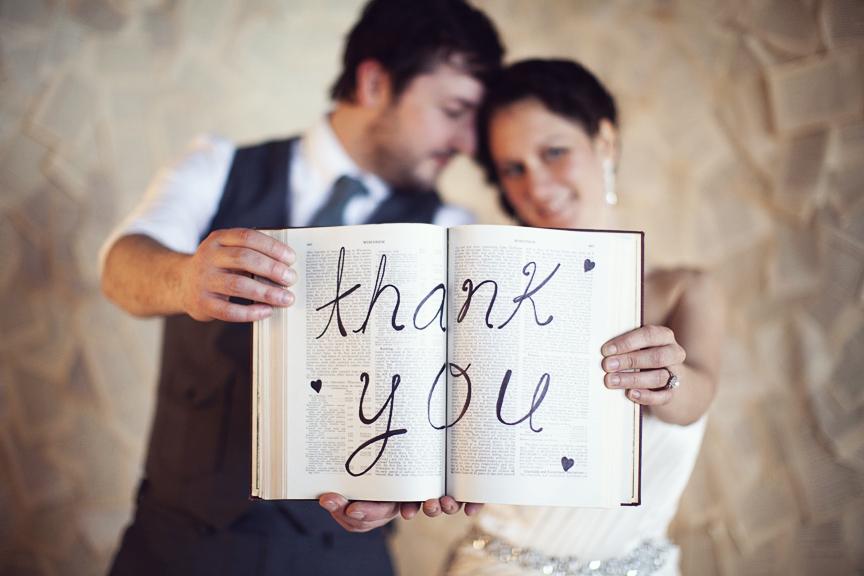 Une fois la fête terminée, viennent les remerciements…