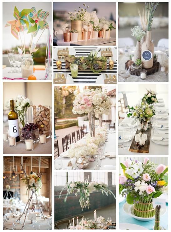 de table originaux que l\u0027équipe de YesIDo a sélectionné pour vous  donner quelques idées, il y en a pour tous les goûts, romantique,  champêtre, bohème,
