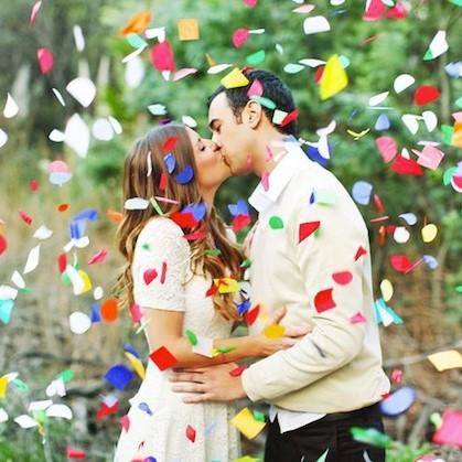 Idées originales pour votre sortie de cérémonie de mariage, que la fête commence !