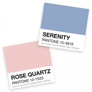 Serenity et Rose Quartz seront les couleurs tendance pour votre mariage en 2016 !